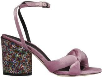 Marco De Vincenzo Embellished Heel Sandals