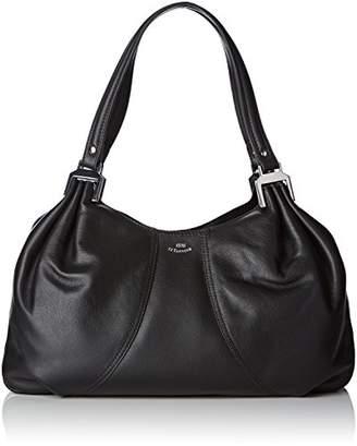 Le Tanneur Womens THX1001 Shoulder Bag Black Size: