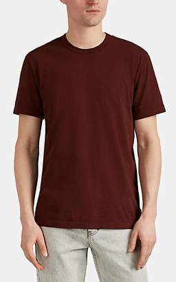James Perse Men's Cotton Crewneck T-Shirt - Red