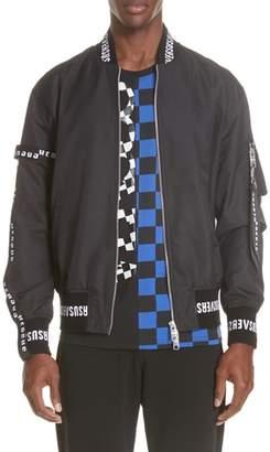 Versace Strap Bomber Jacket