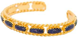 Christina Greene - Cable Bangle in Lapis