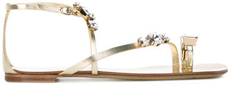 Casadei embellished sandals $647.49 thestylecure.com