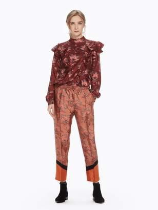 Scotch & Soda Floral Color Block Trousers