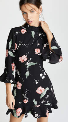 MinkPink Floriana Cutout Back Dress
