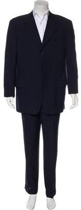 Valentino Striped Virgin Wool Suit