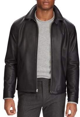 Polo Ralph Lauren Maxwell Leather Windbreaker