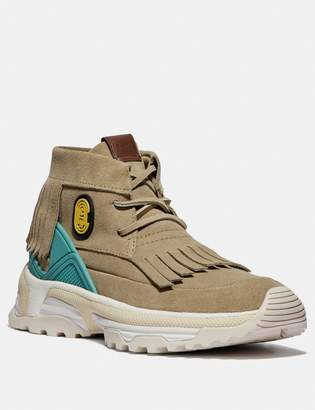 Coach C243 Moccasin Sneaker With Patch