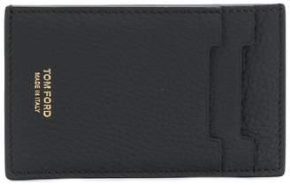 Tom Ford logo print card holder