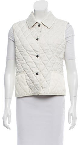 Burberry Burberry London Quilted Pointed Vest
