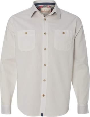 Weatherproof Vintage Chambray Long Sleeve Shirt - 154885 - M