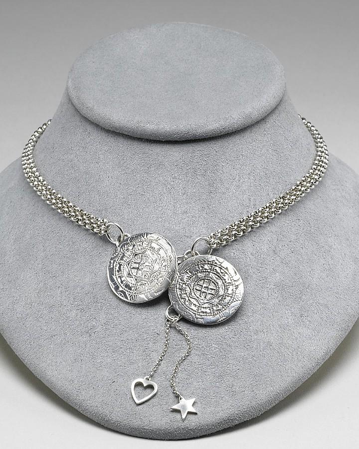 Good Charma Women's New Medallion Necklace 15