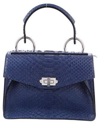 Proenza Schouler Small Python Hava Top Handle Bag