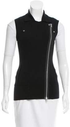 Autumn Cashmere Knit Moto Vest w/ Tags