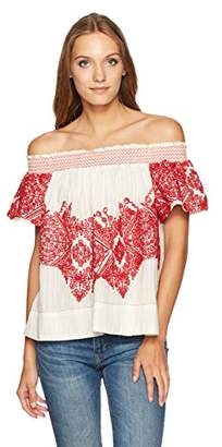 Plenty by Tracy Reese Women's Embroidered Top
