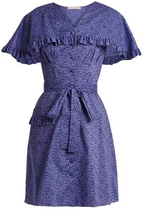 THE VAMPIRE'S WIFE Charlotte Liberty floral-print cotton dress