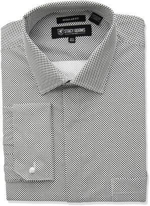 Stacy Adams Men's Big Tall Mini DOT Classic FIT Dress Shirt