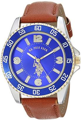 U.S. Polo Assn. Men's Quartz Metal Casual Watch