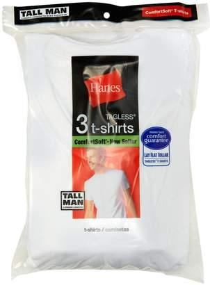 Hanes Men's 6-Pack V-Neck T-Shirt