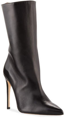 Alexandre Birman Cuba Italian Leather Stiletto Boots