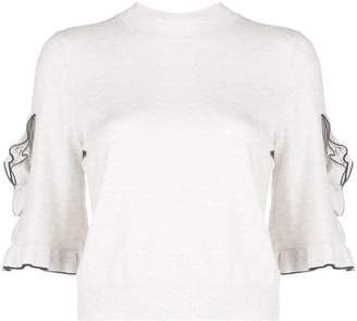 See by Chloe ruffled jumper