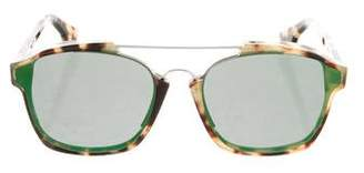 Christian Dior Abstract Reflective Sunglasses w/ Tags