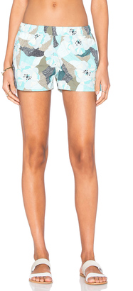 Patagonia Barely Baggies Shorts $49 thestylecure.com