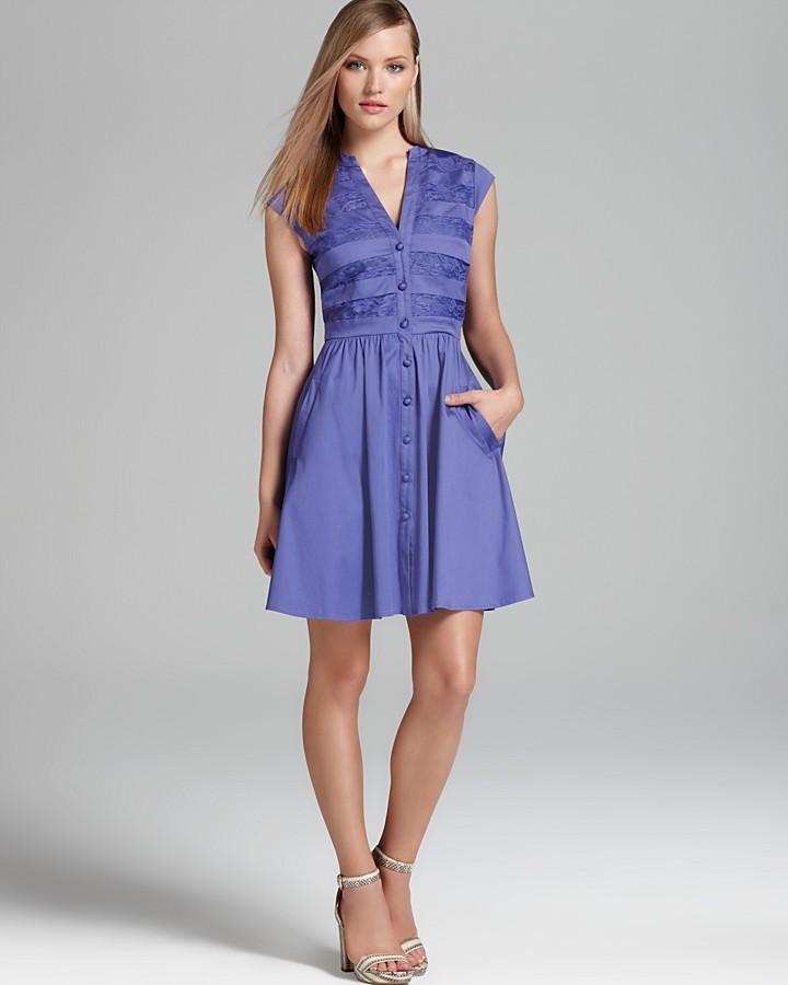Cynthia Steffe Shirt Dress - Lucille Circle Skirt
