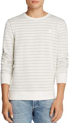 G-STAR RAW Prebase Stripe Sweatshirt $120 thestylecure.com