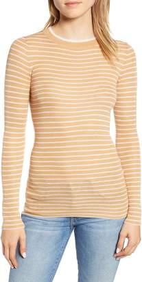 Lou & Grey Stripe Cozy Sweater