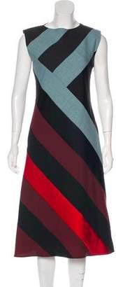 Jonathan Saunders Wool Midi Dress