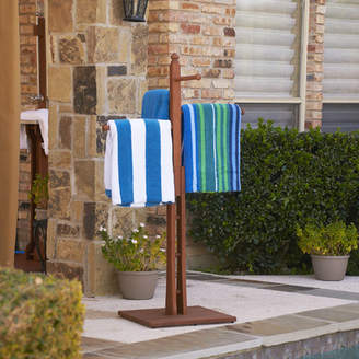 Wildon Home June Eucalyptus Free Standing Towel Stand