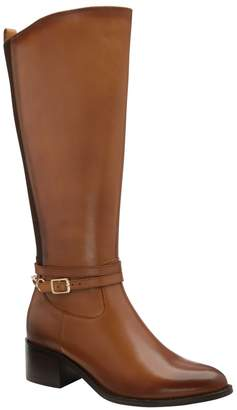 Ravel Womens Knee High Leather Boot - Brown