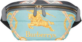 Burberry Men's Archive Scarf Print Belt Bag/Fanny Pack