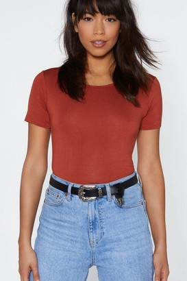 Nasty Gal Why Have the West Faux Leather Belt