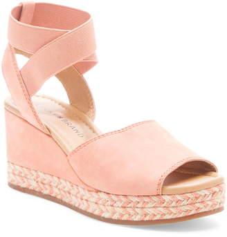 cc928309b2a Pink Espadrille Wedge Women s Sandals - ShopStyle
