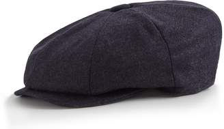 Reiss ORDER BY MIDNIGHT DEC 15TH FOR CHRISTMAS DELIVERY EDWARD CHRISTYS' BAKER BOY CAP Navy