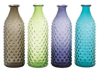 Cole and Grey Cole & Grey 4 Piece Bubble Surface Vase