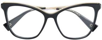 Marc Jacobs Eyewear oversized embellished glasses