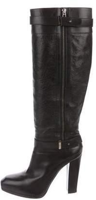 Belstaff Knee-High Leather Boots