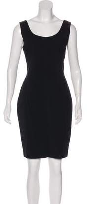 Pierantonio Gaspari Sleeveless Knee-Length Dress