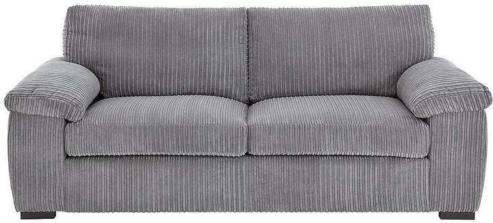 Amalfi 3 Seater Standard Back Fabric Sofa
