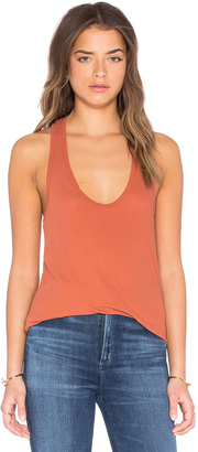 James Perse High Hauge Jersey Tank $95 thestylecure.com