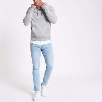 River Island Light blue wash Eddy skinny fit jeans