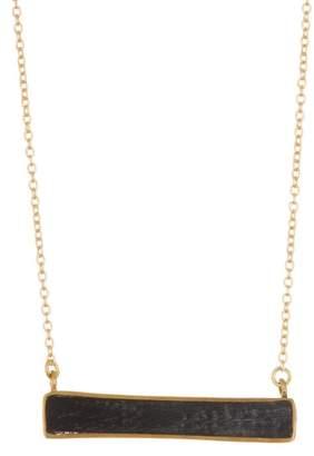 Soko Horizontal Bar Pendant Necklace