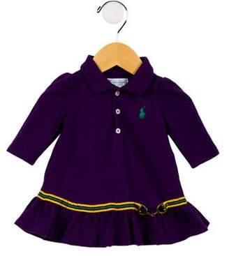 Ralph Lauren Girls' Long Sleeve Knit Dress