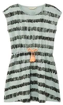 MANGO Lace cotton dress
