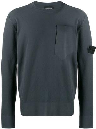 Stone Island Shadow Project slit pocket sweater