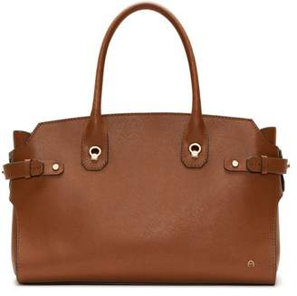 Etienne Aigner Dylan Leather Tote Bag