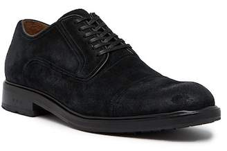 John Varvatos Collection Waverly Welted Panel Suede Derby