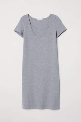 H&M MAMA Nursing Dress - Gray